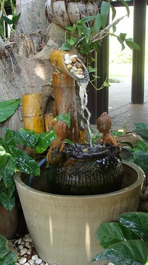 Fountain at Bang Sai