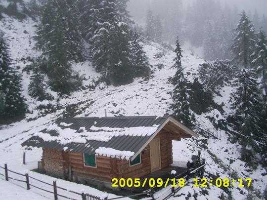 Austrian log cabin