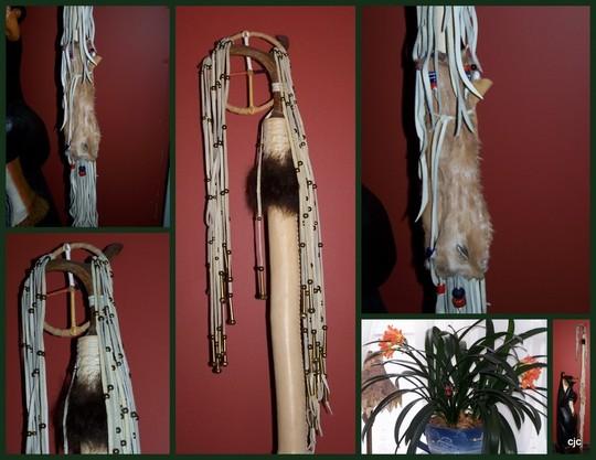 Clivia and Cherokee Medicine Pole