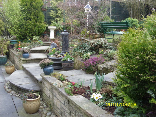 Patio Rockery