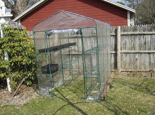 New greenhouse for my desert cacti