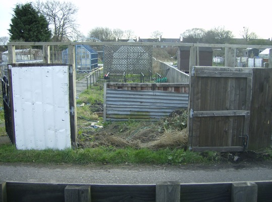 FENCE/GATE OF ALLOTMENT.