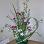 My 1st ever flower arrangement