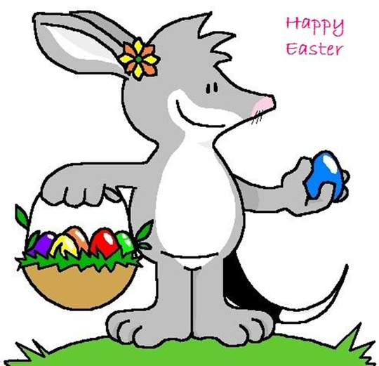 Happy Easter Sunday from the Easter Bilby downunder!
