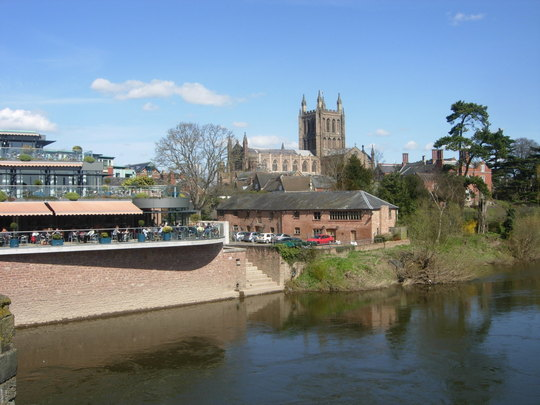 Hereford Cathedral Spring 2010