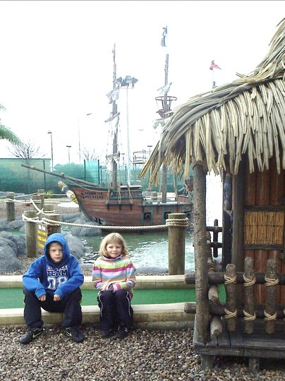 Day Out this week at a Pirate-themed Crazy Golf Circuit!