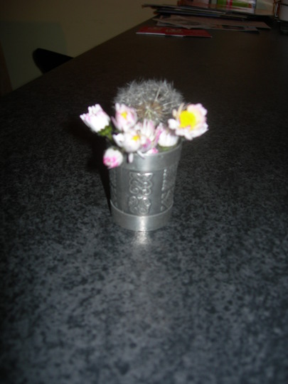 Bouquet from my son