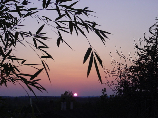 At sundown