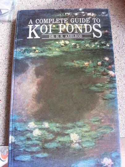 Koi Book. 1 euro at  a market :-)