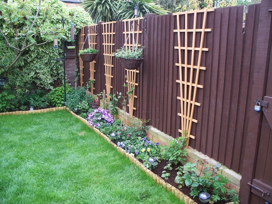 Side Border Amp Fence Finished Grows On You