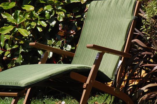 New steamer chair !