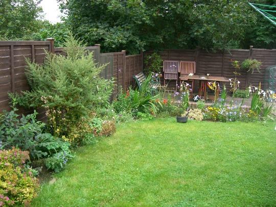 Garden August 09
