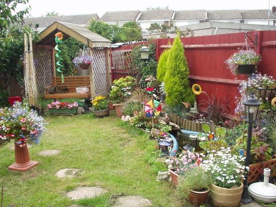 My garden years back