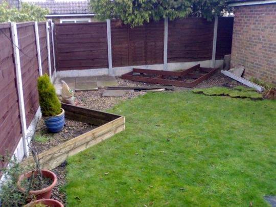 New garden redesign is go!