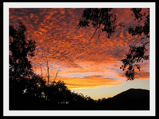 End-of-Autumn Downunder:  Sunrise
