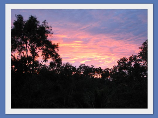 End-of-Autumn Downunder:  And Another Sunrise