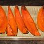 lovely, oven roasted pumpkin
