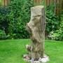 Driftwood 'statue'