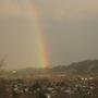 A HUGE rainbow