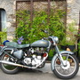 Royal Enfield 350 bullet (and big trellis :)