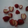 Woodland strawberries on a plate