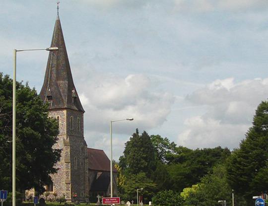 Church where I live