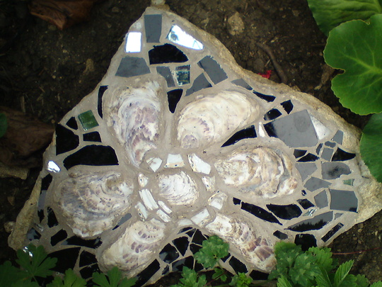 Mosaic for the garden