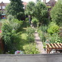 view from upstairs window