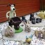 GROMIT&#x27;S GRAVEL GARDENS ... more on blog ... makeover to brighten up a shady area by my long shed ... a design idea for children ... 