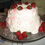 Strawberry Pineapple Angel Food LUSH Cake...a DOLE recipe.