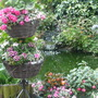 TWO TIER BASKET BY POND