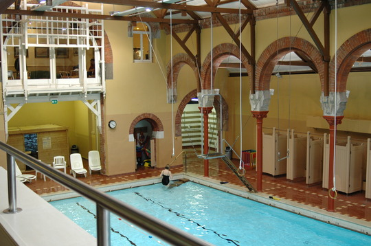 Drumsheugh Baths Old Victorian Swimming Pool With Moorish Influences In Edinburgh September