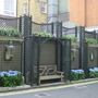 lovely trellis in London - May 2004