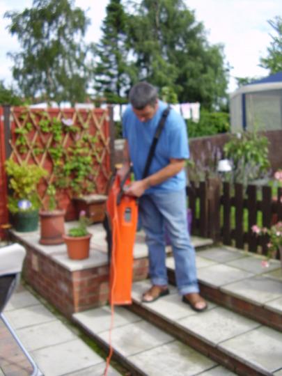 my new garden hoover