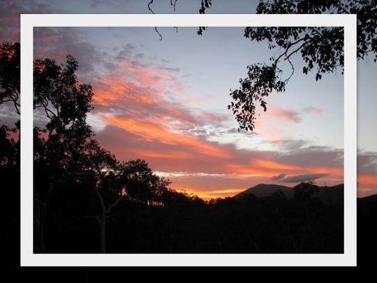End-of-Winter Downunder:  Winter Sunrise