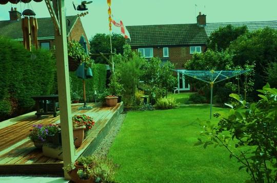 The garden is my idea of Heaven
