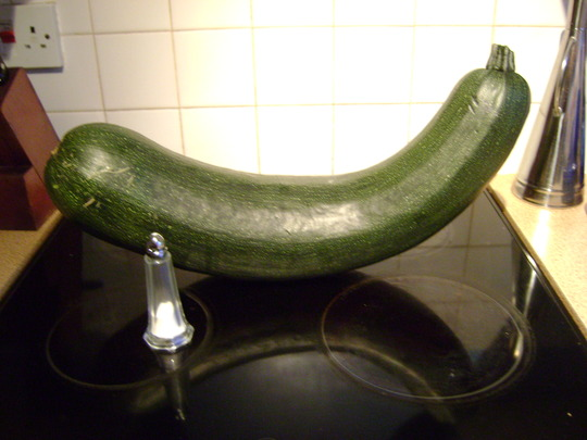 Was a courgette ...