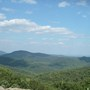 View of Shenadoah Valley and Blue Ridge Mountains in Virginia