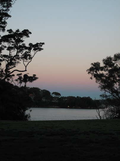 Sunset at Royal National Park