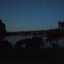Port Hacking River at night