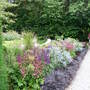Great planting along path