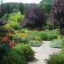 At Rosemoor - the square garden