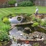 Pond I built for a customer