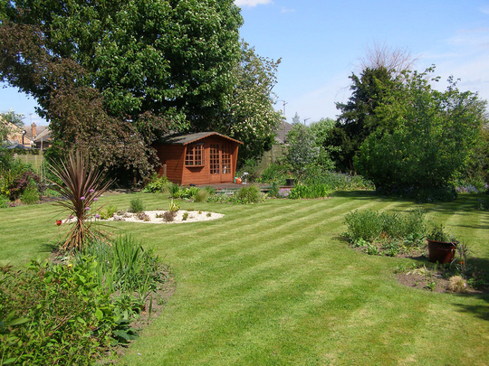 Customers garden