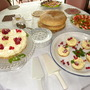 cheesecakes with fruit from the garden  -290810