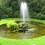 Fountain at Little Moreton Hall