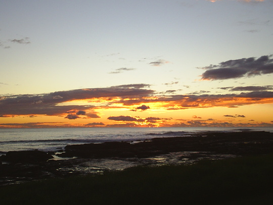 Sunrise at Shellharbour