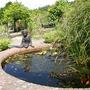 Delightful_leaf_fountain_and_child_figure_rosemoor