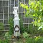 Cherub in the back garden