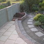 """Lwr """"terrace"""" and planter"""